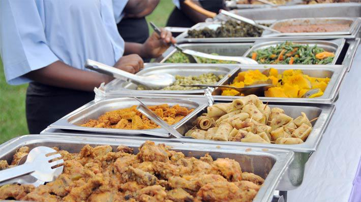 Assorted food for a wedding, Moonlight Wedding Consultancy Solutions