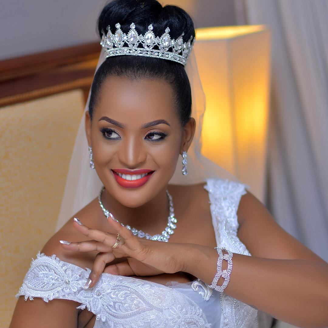 Nahya's gorgeous bride