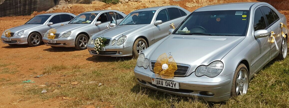 Mercedes Benz bridal cars availed by Moze Decoration World