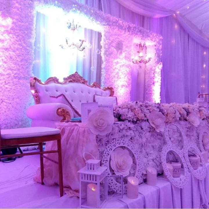 Deus and Inde's wedding decor by Purple Truffle Weddings & Events