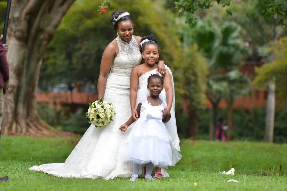 A timeless and glamorous bride Namaganda Patricia.