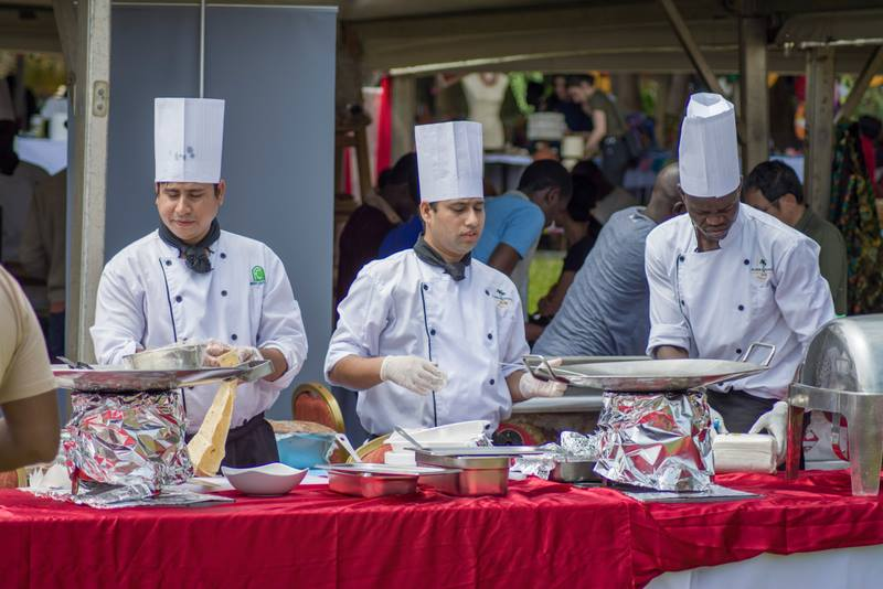 Chefs at Kabira Country Club