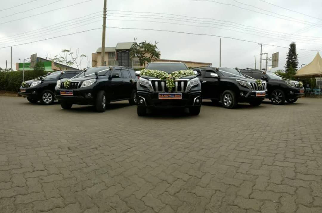 Wedding cars from Wedding Car Hire Uganda