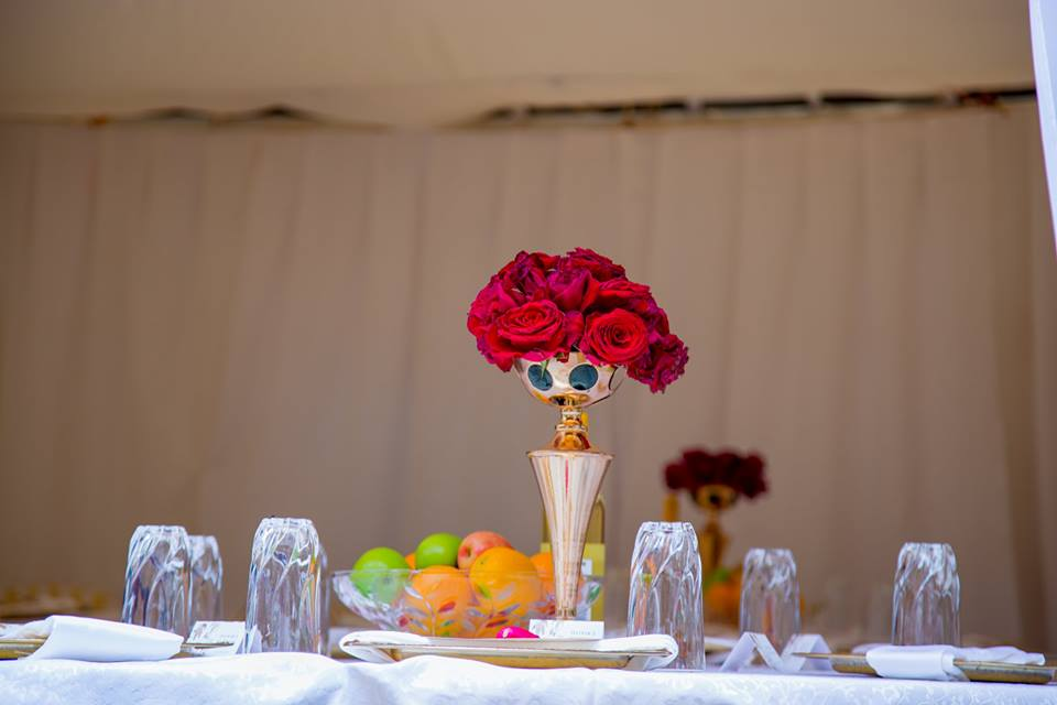 Customary wedding decorations by Blessed HANDS DECOR Services