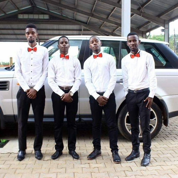 The gents from Sterling Ushers