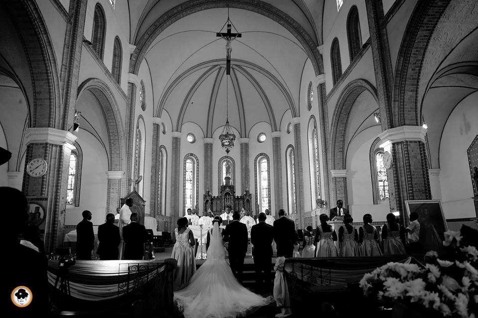 Inside the walls of Rubaga Cathedral - Shots by Ken's shot Photography