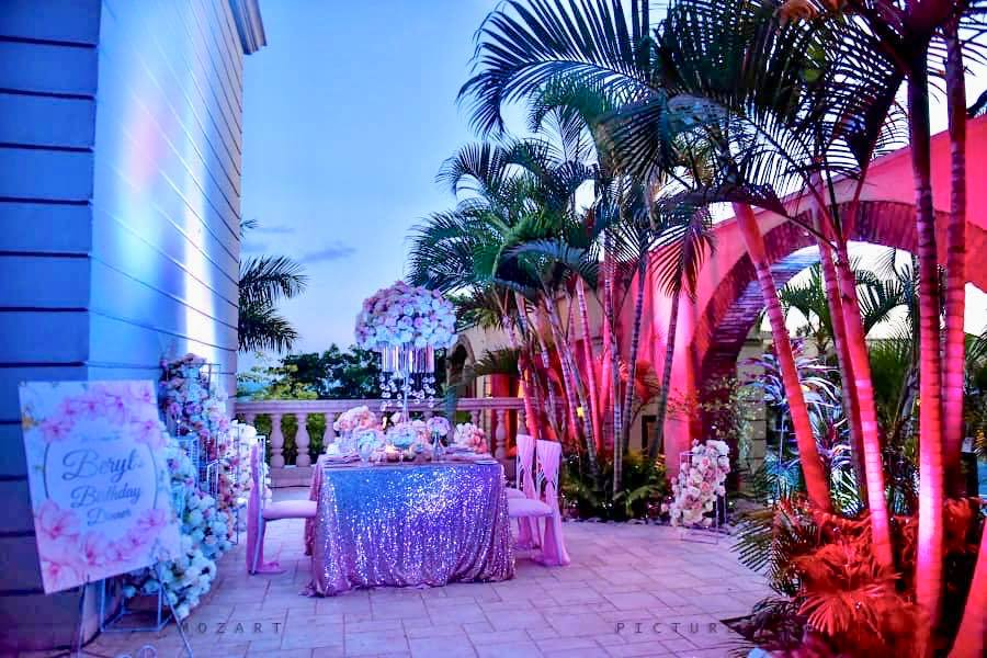 Anita Beryl's brilliant birthday decor at Lake Victoria Serena Resort