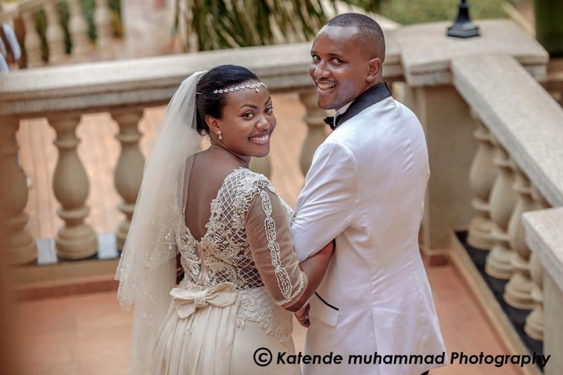 Naithan & Shellah wedding photo by Katende Muhammad Photography