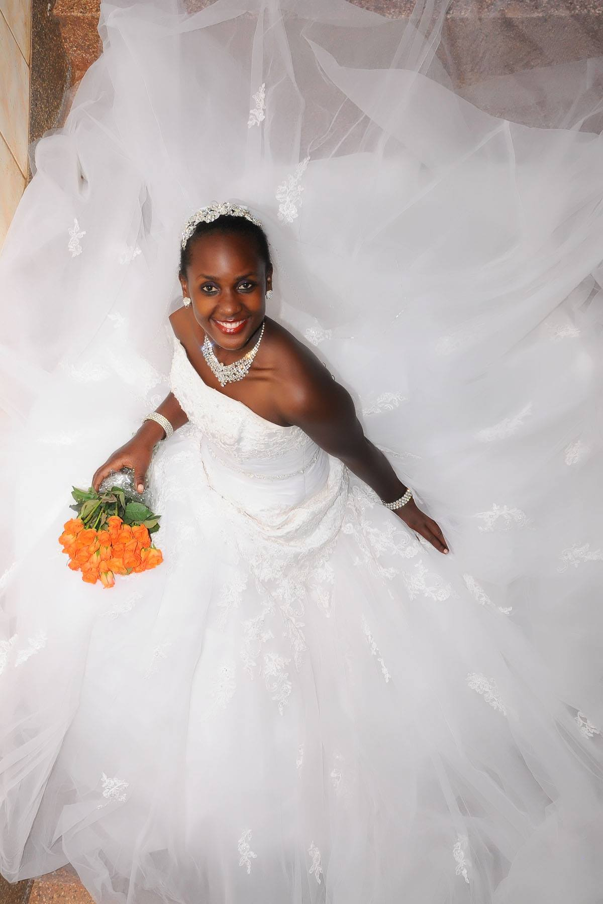 Bridal Smiles from Judy's Bridals