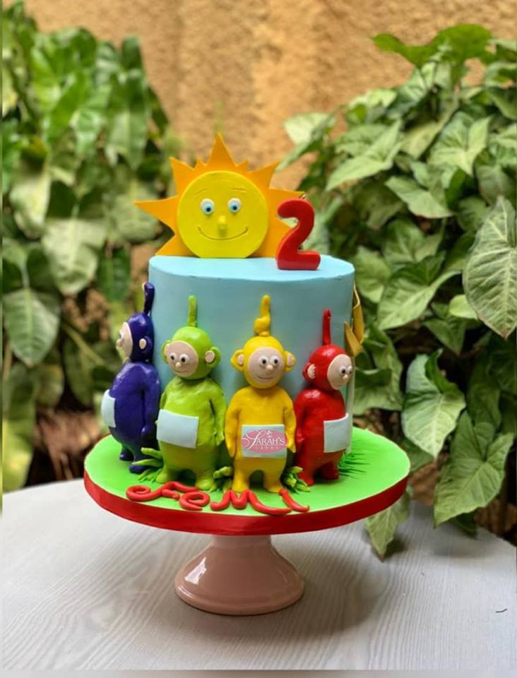 Teletubbies cake by Sarahs Cakes