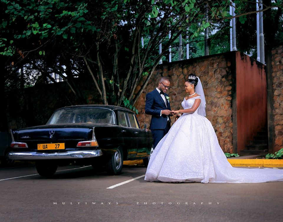 A groom and his bride during a wedding photo shoot by MultiWays Photography