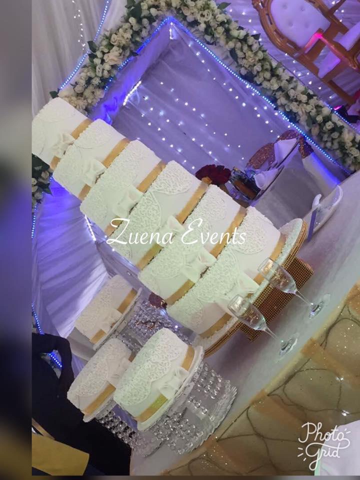 Wedding Cake By Zuena Cakes