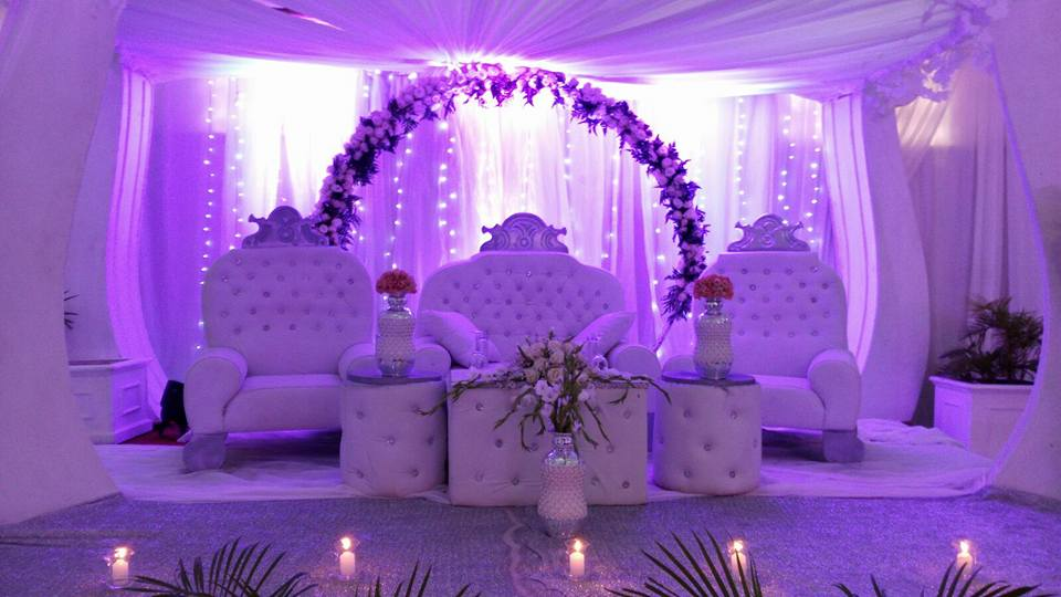 Wedding reception decorations by Mugagga Events