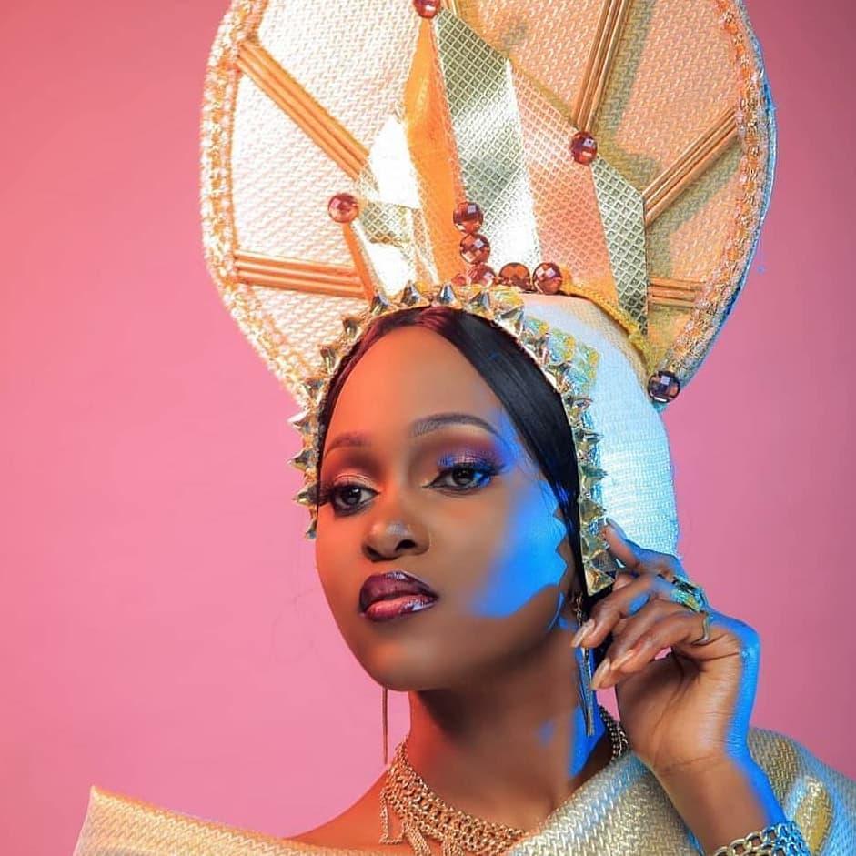 Karitas Kario queening with makeup by FaythPresh
