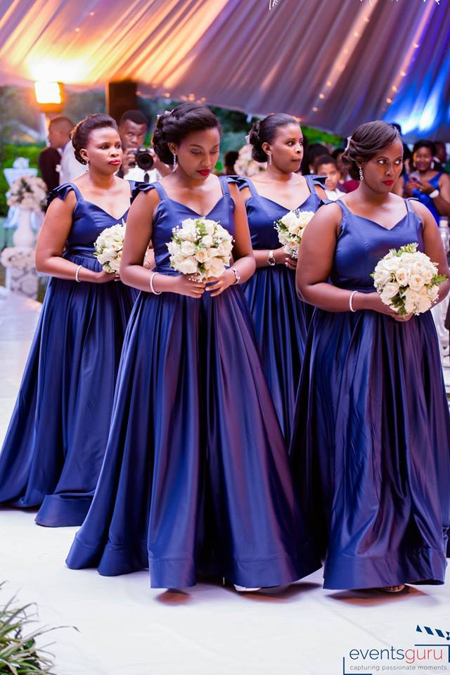 Odetta's classic bridesmaids, shots by Events Guru Photography