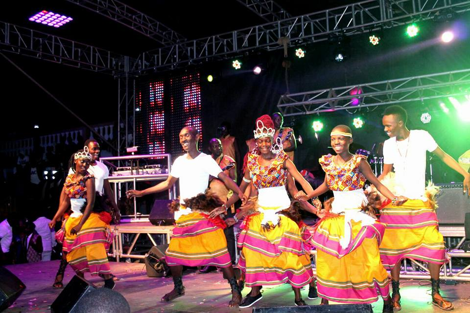 The Dance N' Beats Cultural Troupe excite revellers at Meseach Ssemakula's concert at Hotel African