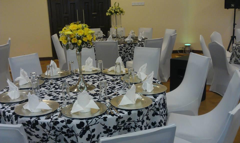 Black and White Decor Set Up at Royal Suites Bugolobi