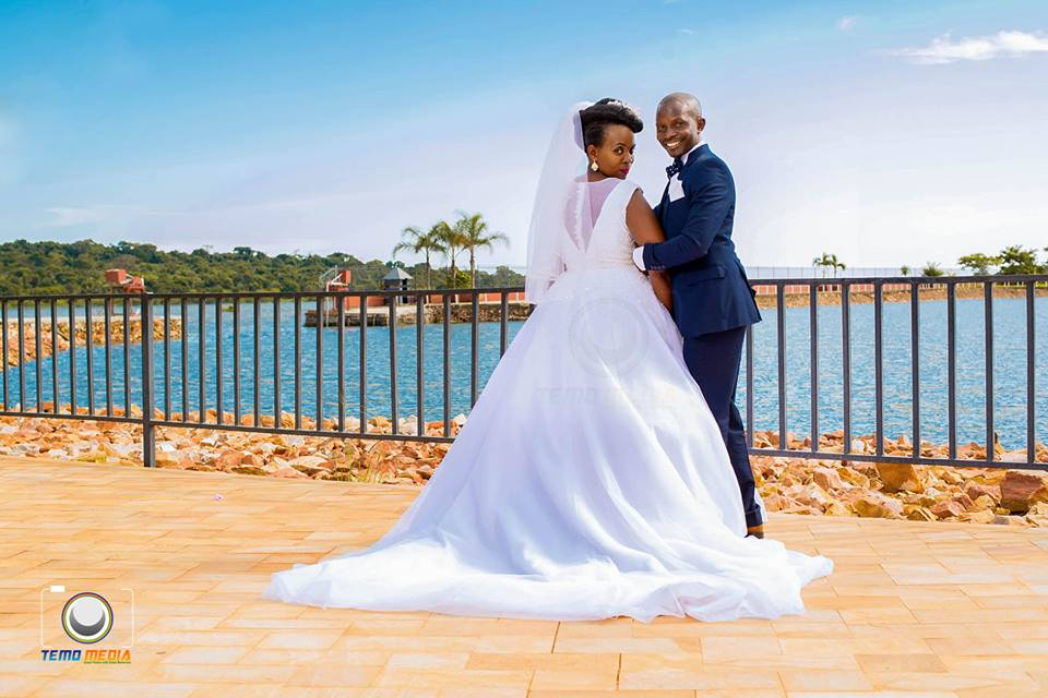 David and Kevin at their wedding photo shoot at Speke Resort Munyonyo