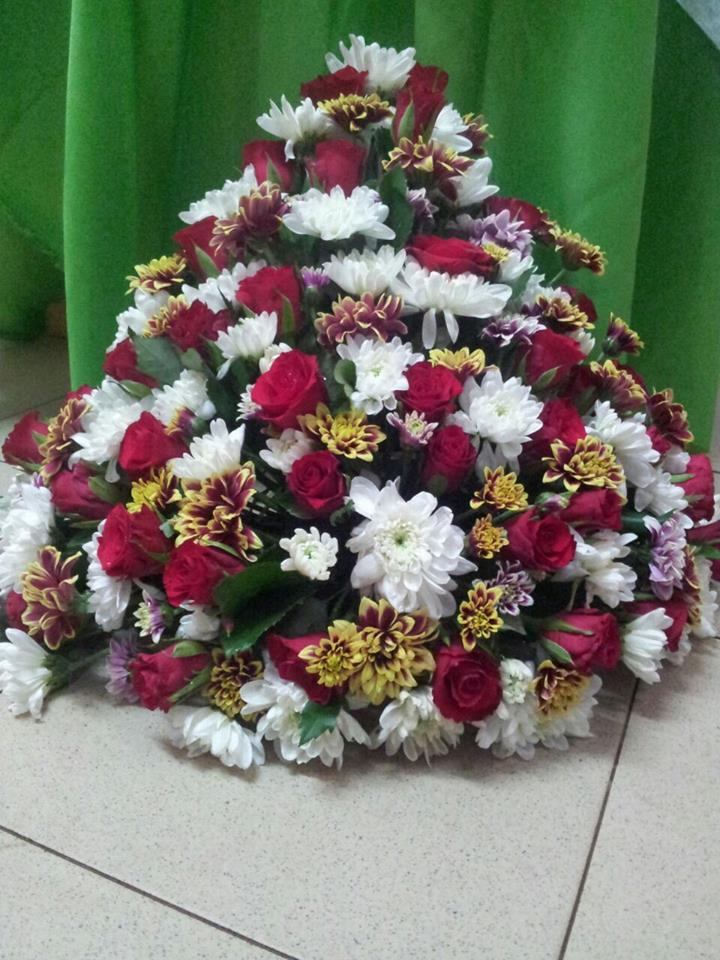 Office flowers organised by Rusadia Florists and Decorations