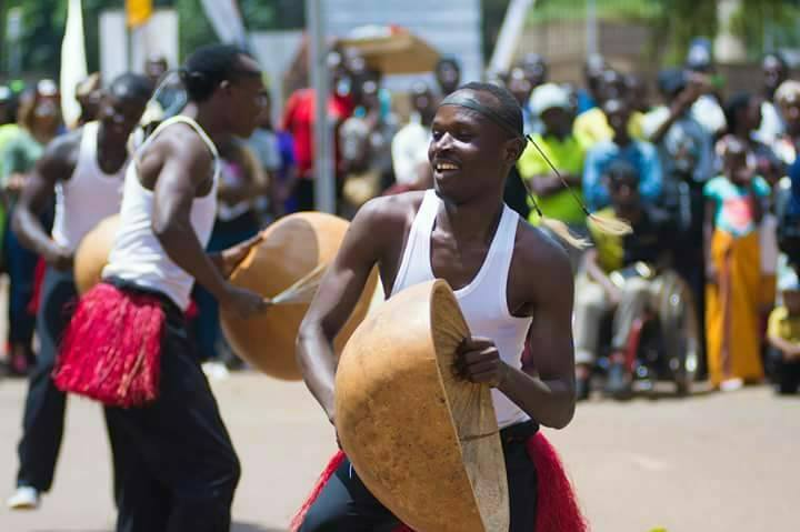 Nyange Cultural Performers at the 2017 City Festival