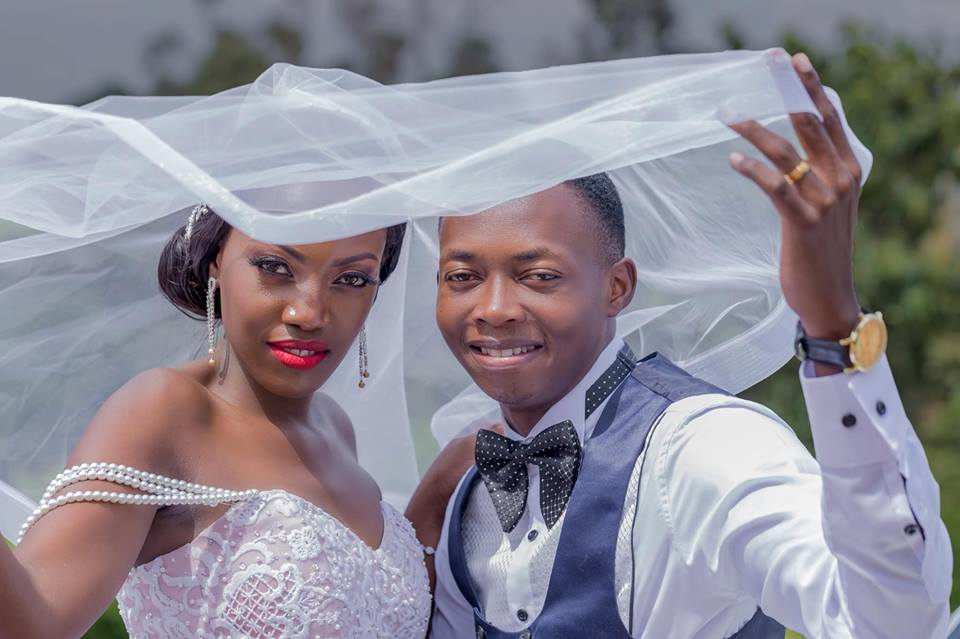 George and Lilian on their wedding day, shots by Genius Media Events