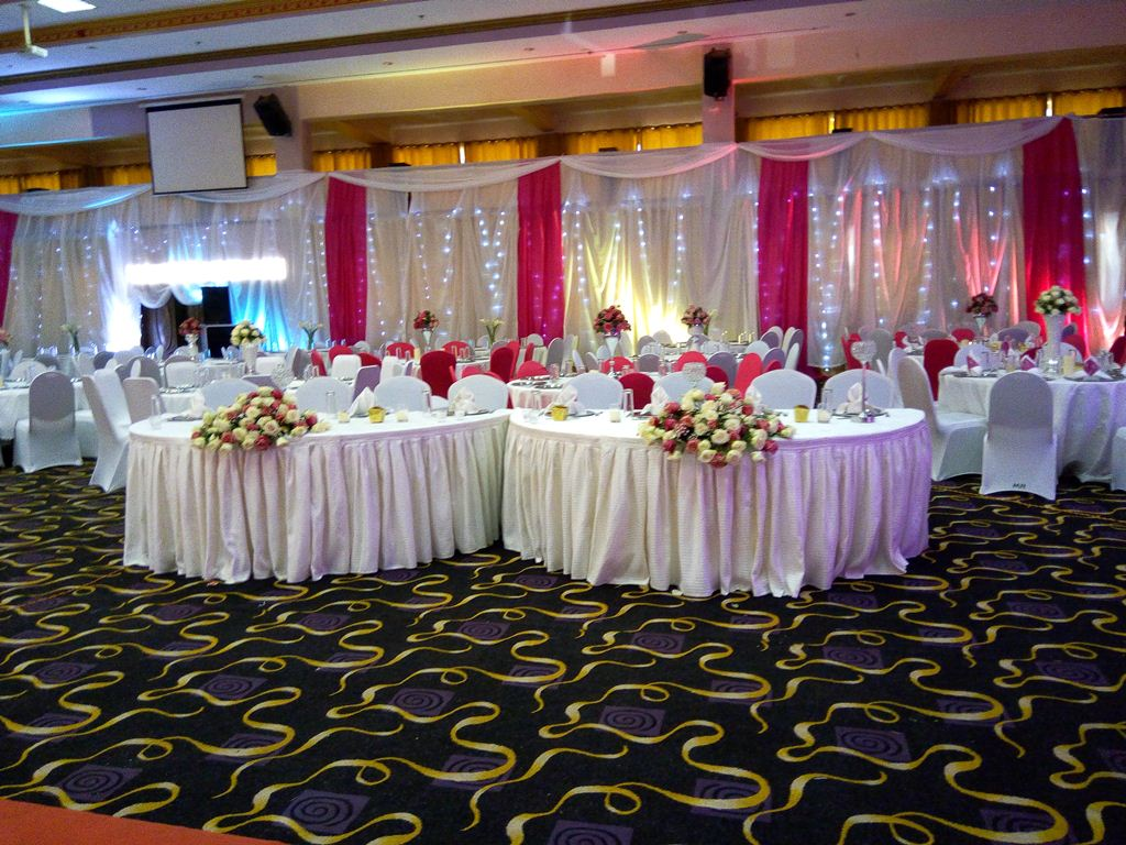 Wedding decorations by Mr Events at Hotel Africana