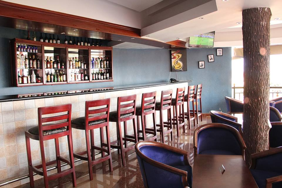 The bar area at Sapphire Hotel Limited