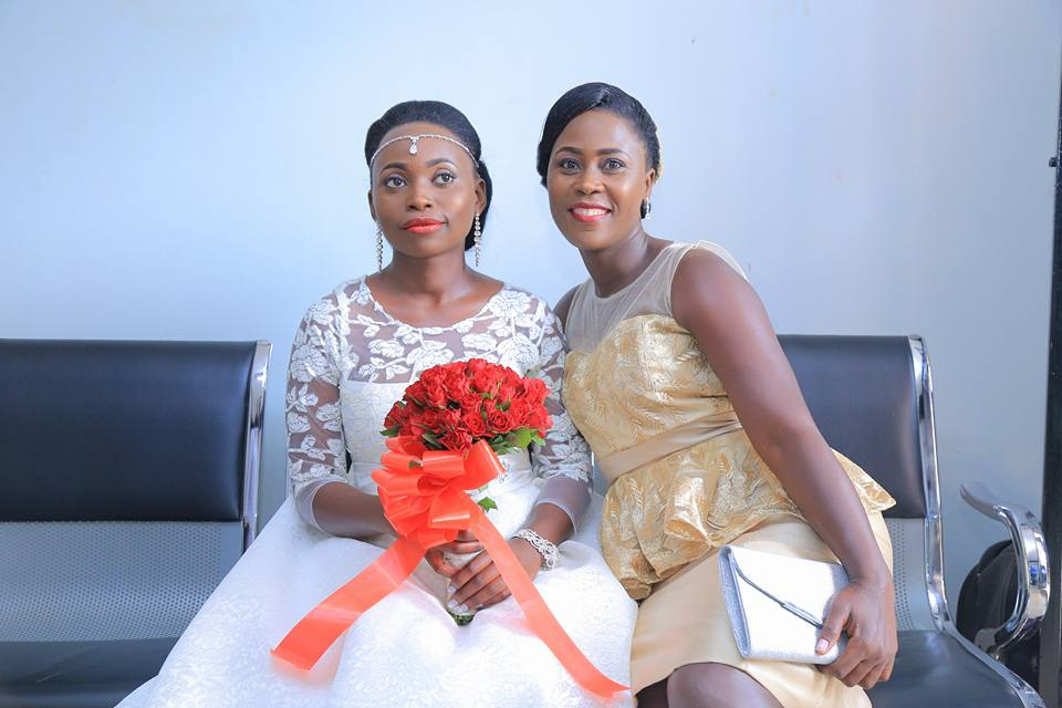 Naluyima Rachael in her Gown - Sallon & makeup by Suki
