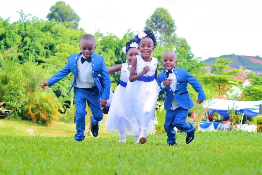 Beautiful flower girls & page boys at a photo shoot by Balam HD Studios