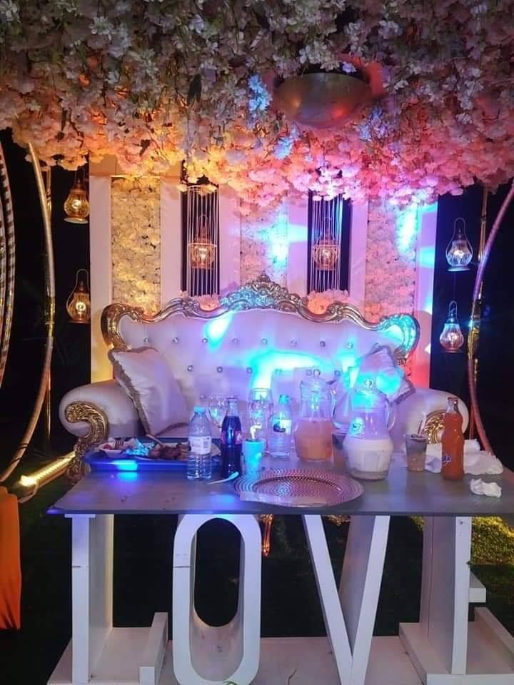 Donald and Grace's wedding decor by Rossy Roots Events