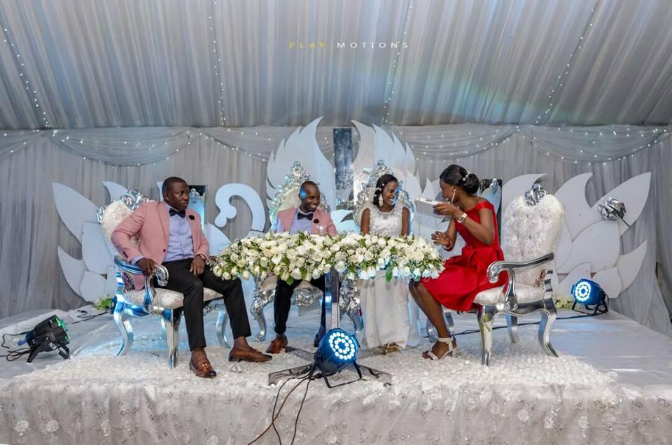 Dastan and Suzan's wedding at Nsambya Gardens, shots by Play Motions