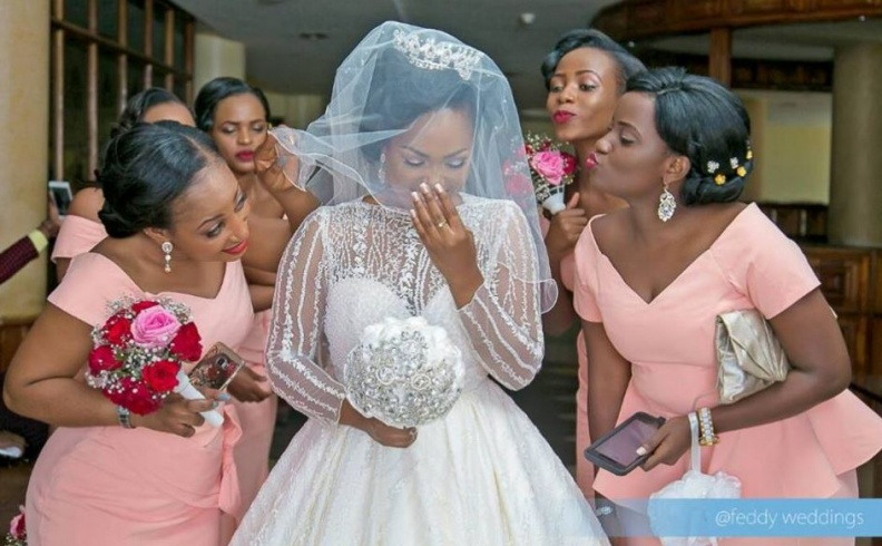 Kirabo & her maids captured by Feddy Weddings