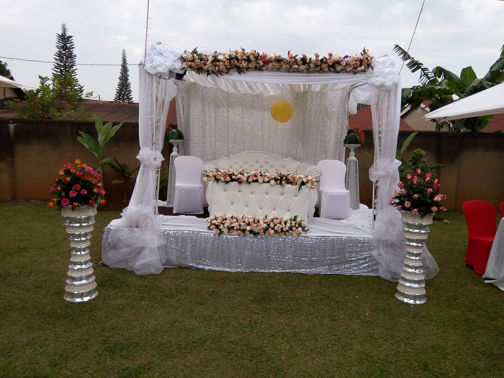 A gazebo done by Mr Events
