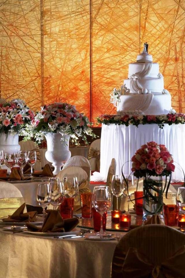 Wedding decorations at Kabira Country Club