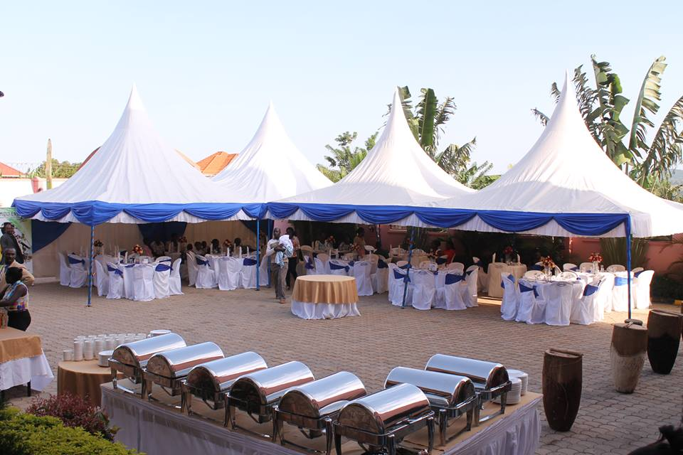Outdoor venue at Sapphire Hotel Limited
