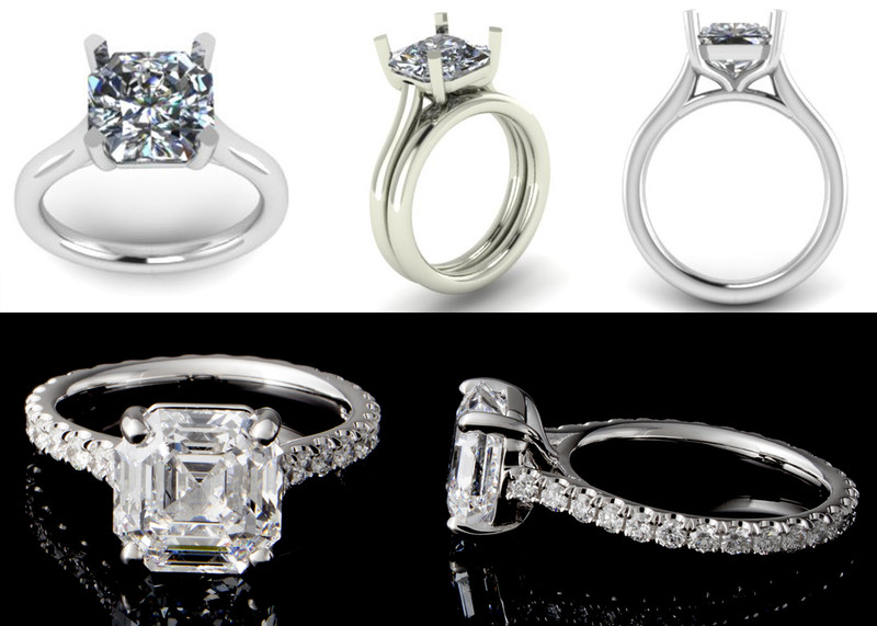 Wedding and engagements rings from Ahmed Jeweller and Diamond Shop
