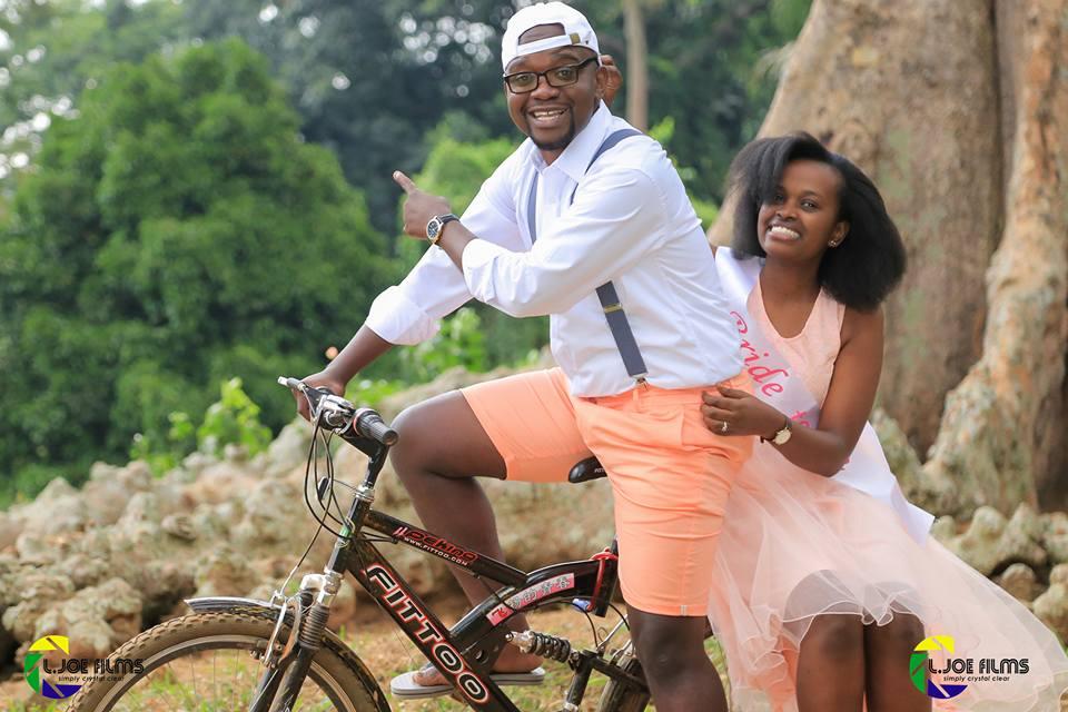Eric Ntalo and Gloria Ashabahebwa, photo by L.Joe Films