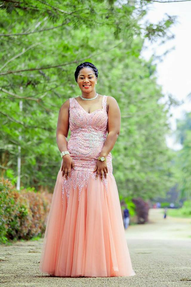 Sharitah Mazzi Mawanvu dressed by City Bridals