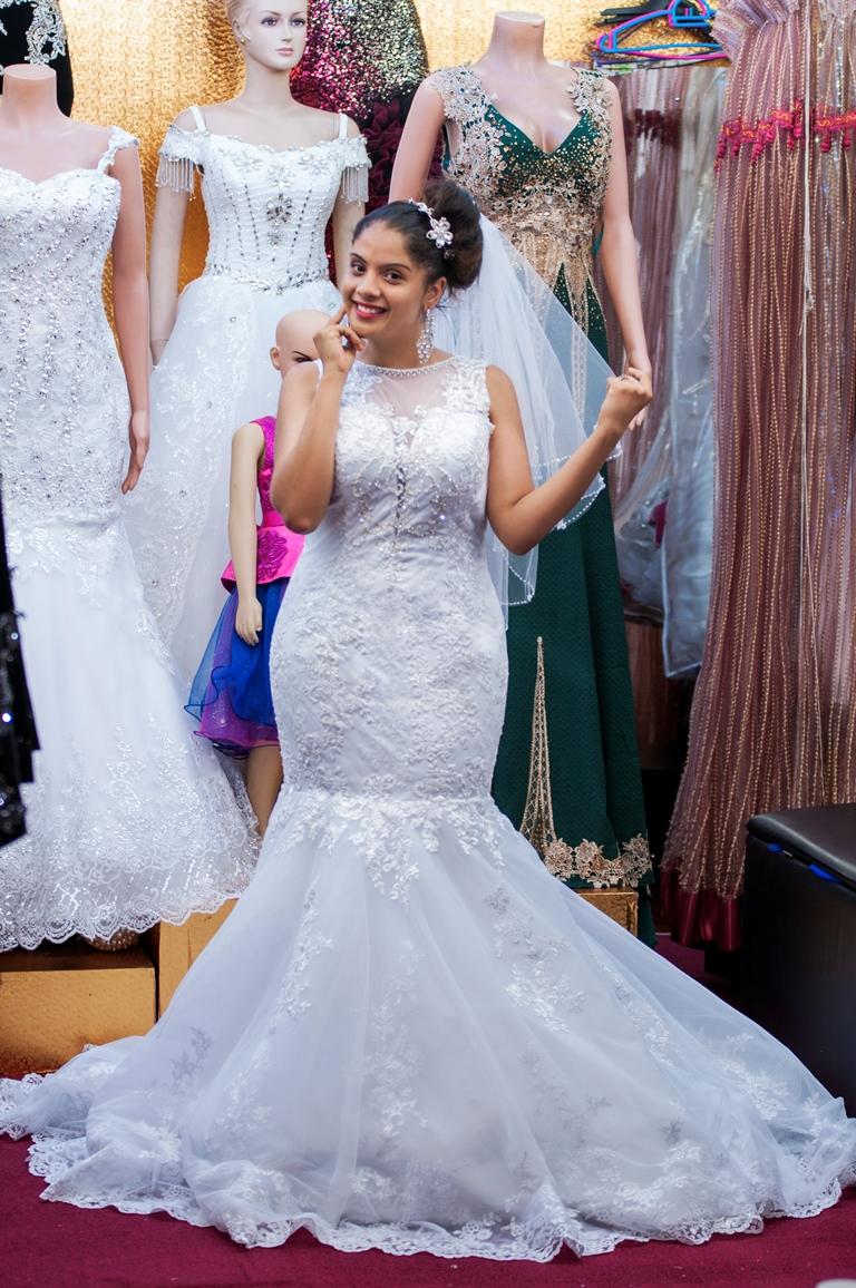 Wedding Dress Shopping Trails at Lady Scarlet Bridal Shop