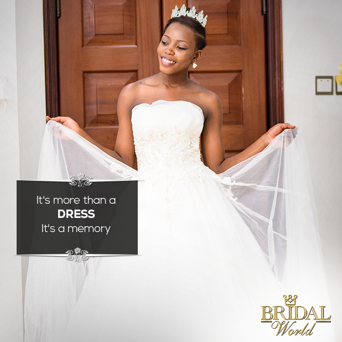 Shopping for a wedding dress is a once-in-a-lifetime experience.