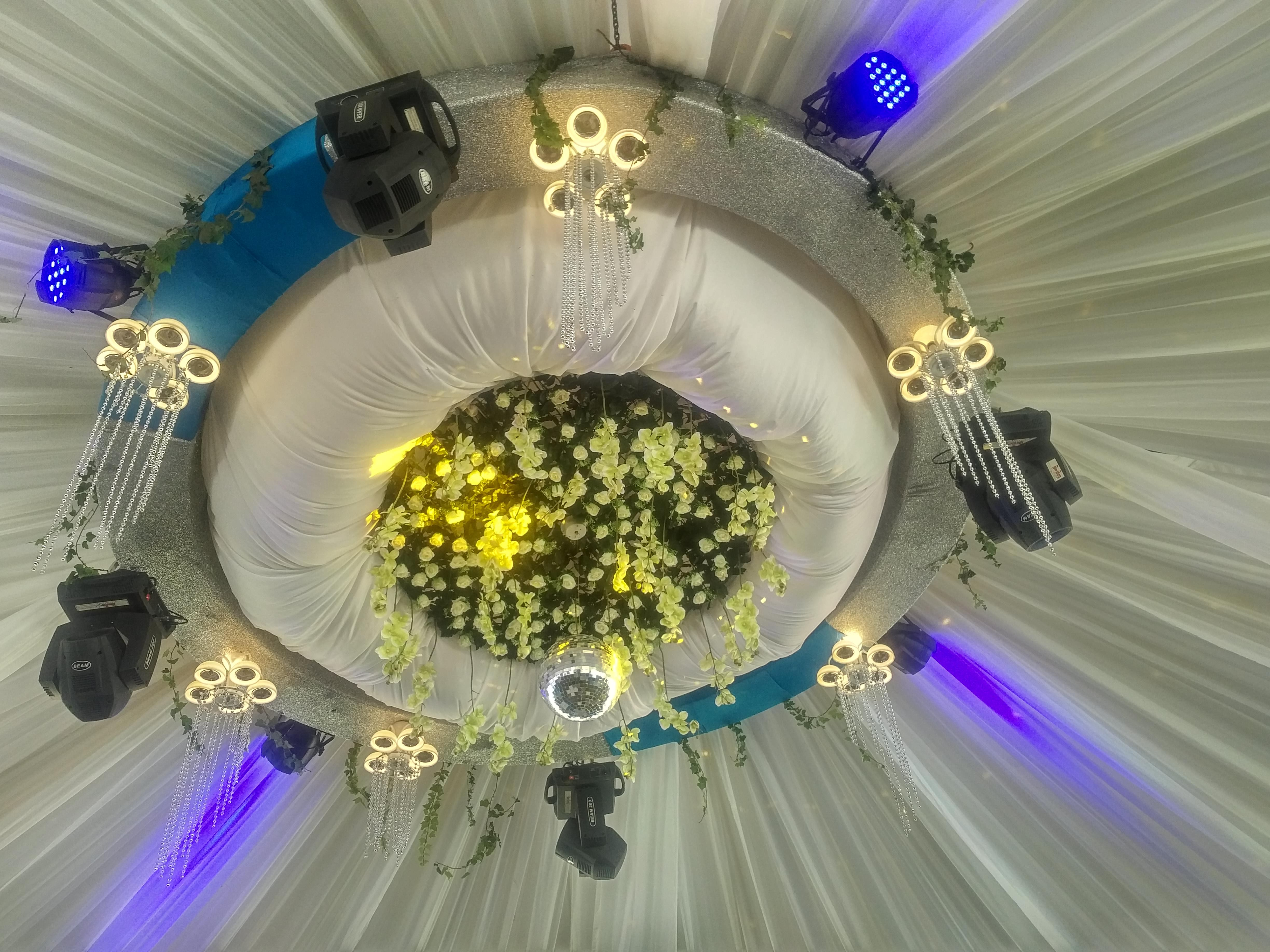 Mind blowing wedding decorations by Rossy Roots Events