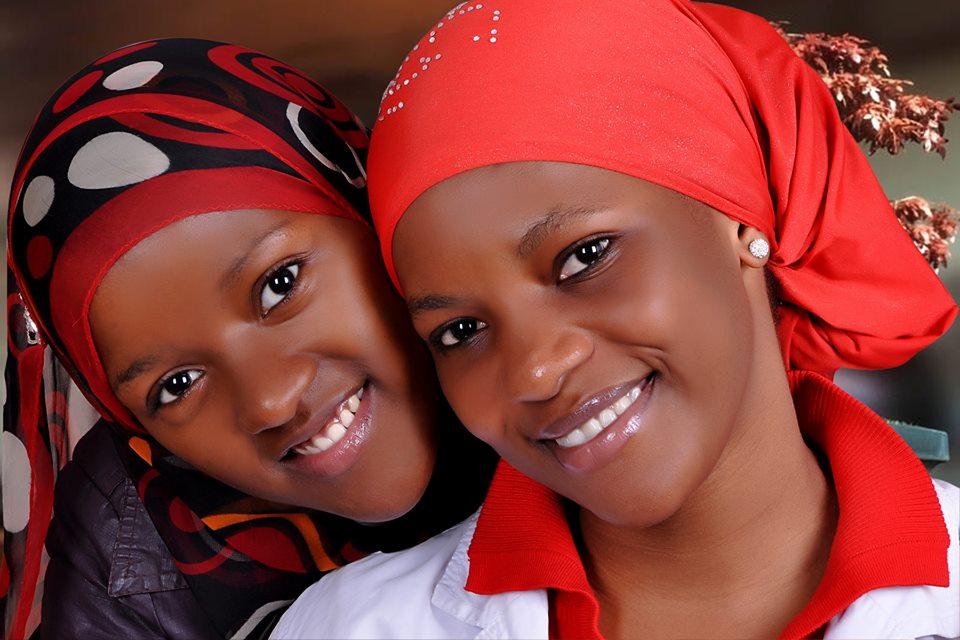 Beautiful young girls at Capital Studio Uganda