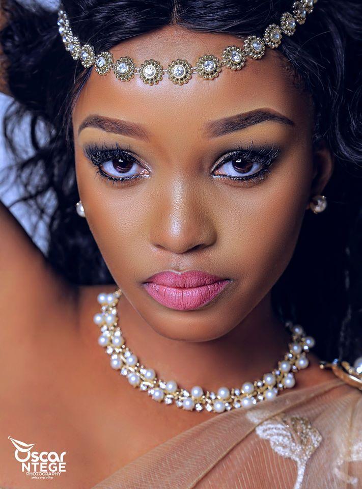 Makeup photography by Oscar Ntege