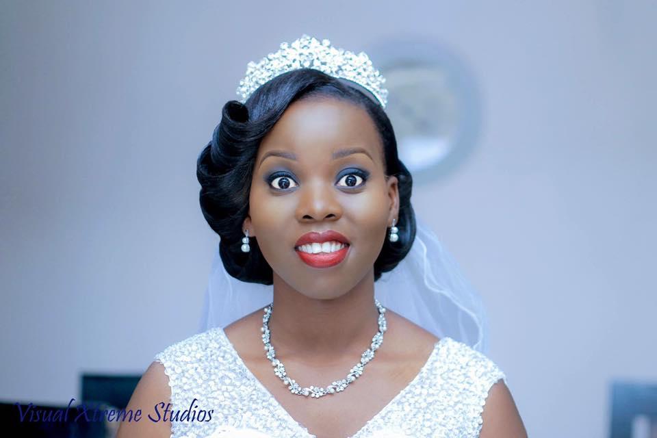 Beautiful bride Liz was dressed by Winnie's Bridal Boutique on her wedding day