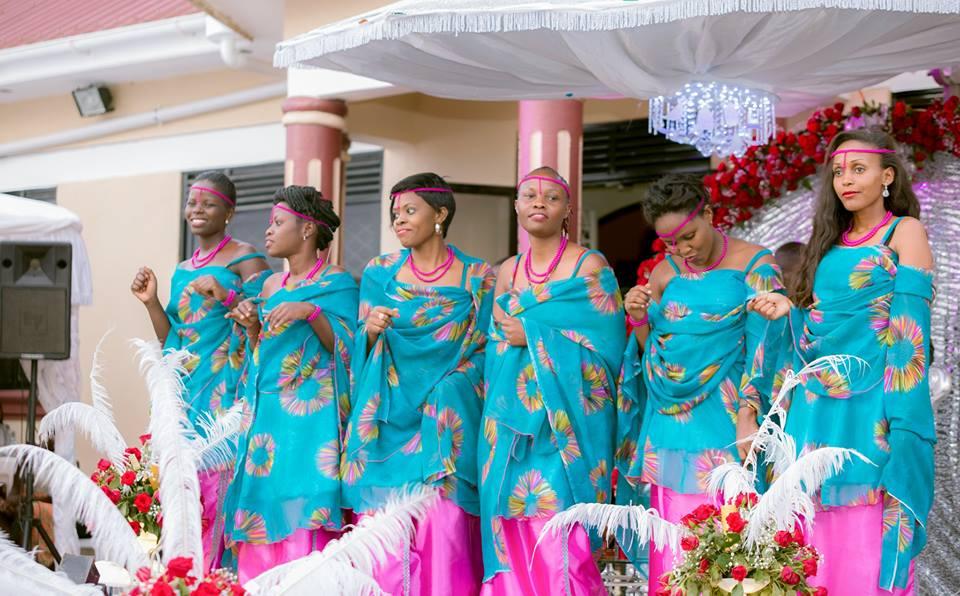 Beautiful blue mushanana for hire at flashy bridals