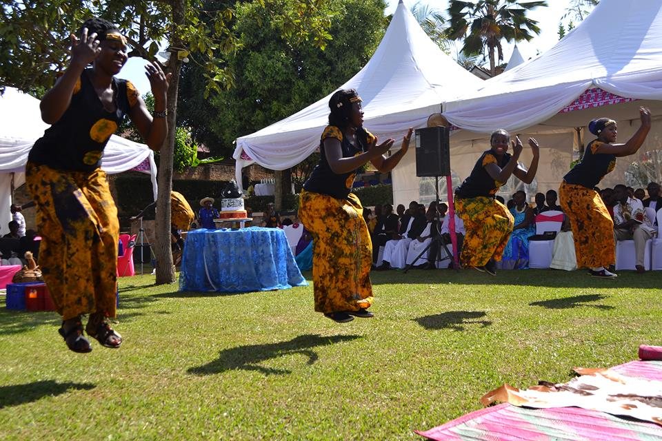 Customary wedding performances by Nyange Cultural Performers