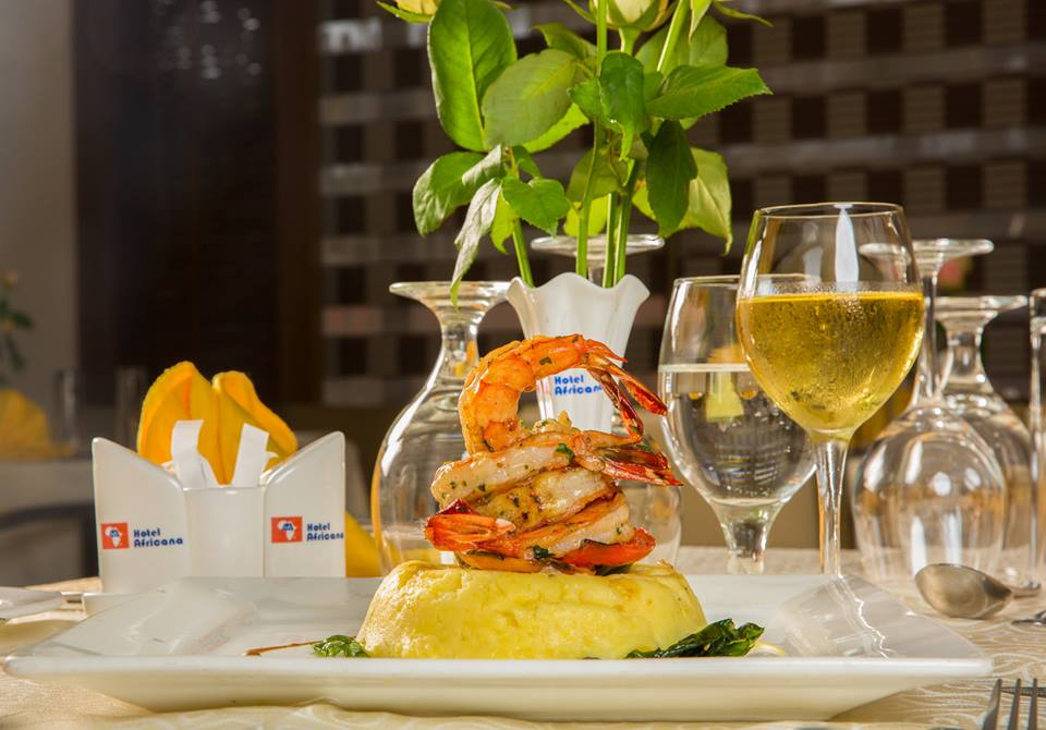 Grilled king prawns best served with mashed potatoes is just the meal for you.