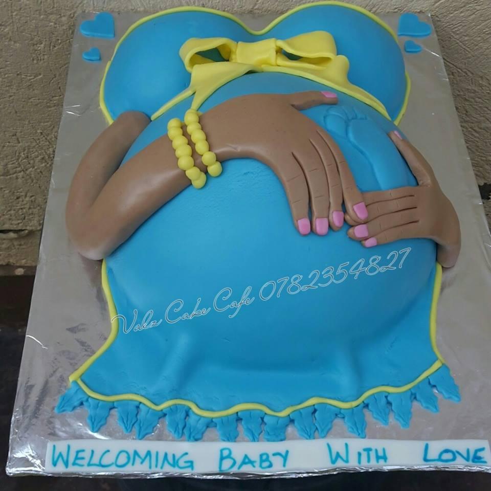 Baby shower cake baked by Valz Cake Cafe