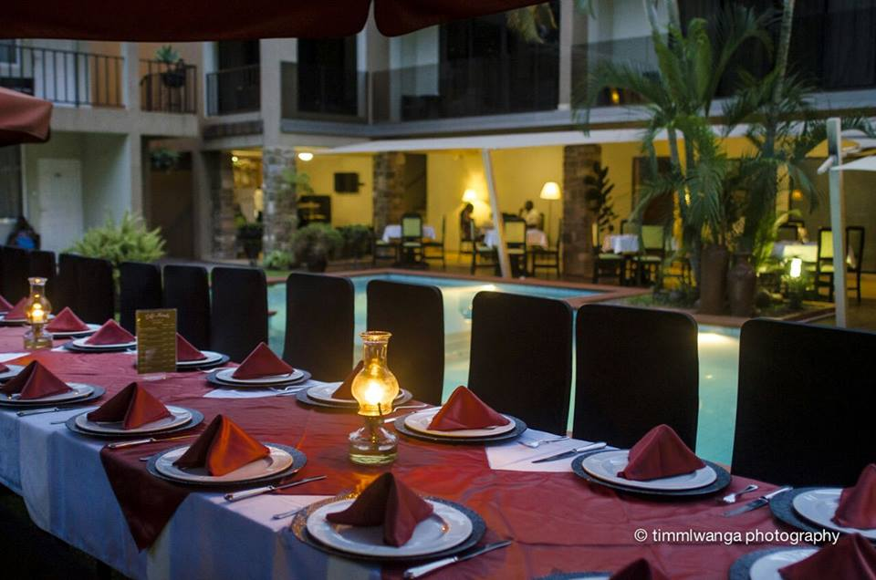 What are you waiting for to make a booking for a pool side dinner?..Great Food at Cafe Mamba