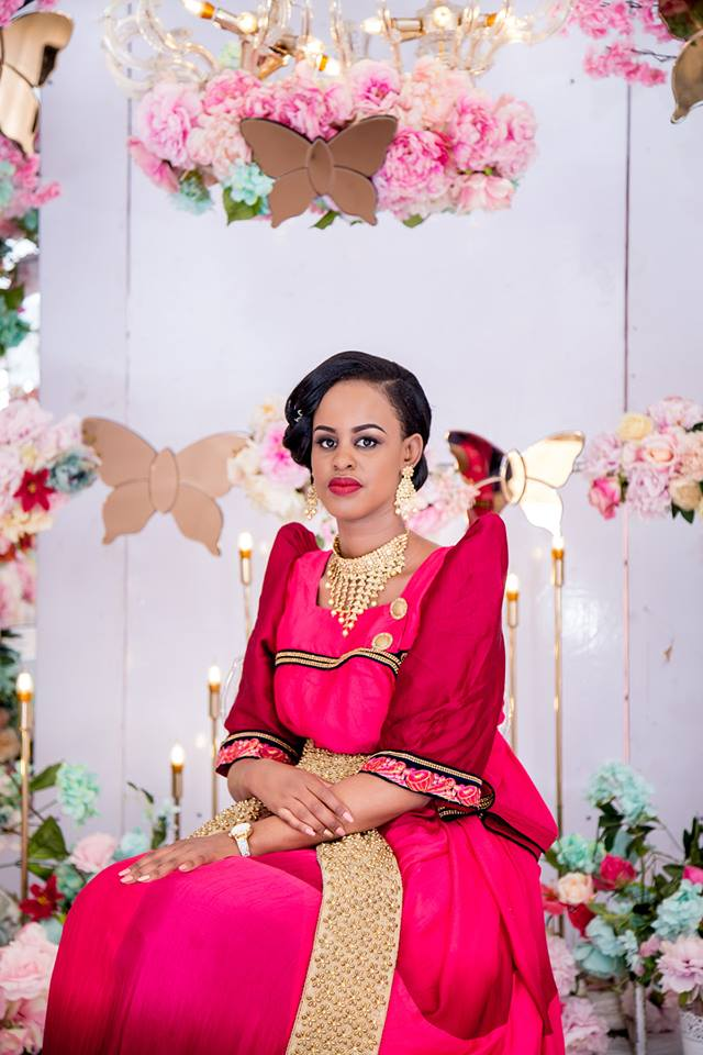Kwezi at her posh kukyala, shots by Dynamic Wedding Photography